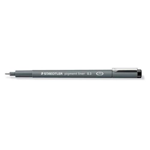 Staedtler pigment liner fineliner 0,3 mm zwart 308 03-9