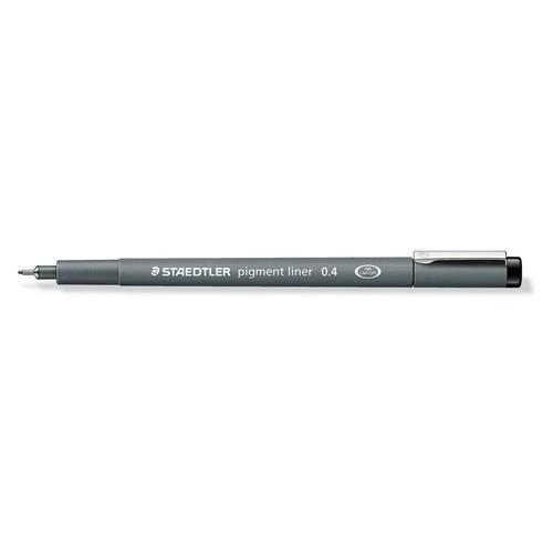 Staedtler pigment liner fineliner 0,4 mm zwart 308 04-9