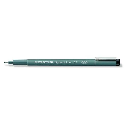 Staedtler pigment liner fineliner 0,7 mm zwart 308 07-9