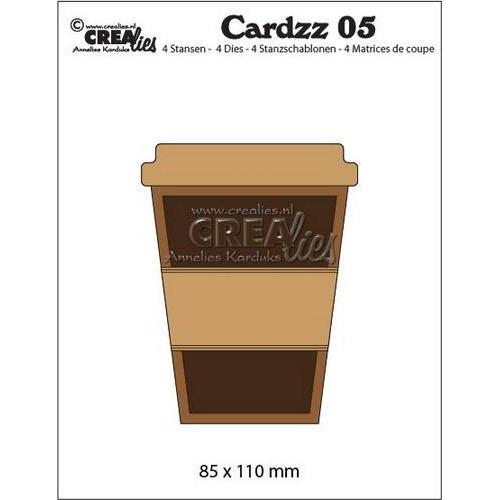 Crealies Cardzz nr 05 Mok om mee te nemen CLCZ05 85x110mm (06-18)
