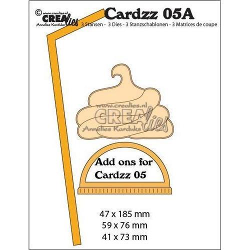 Crealies Cardzz nr 05A Extra's voor mok om mee te nemen CLCZ05A 47x185, 59x76, 41x73mm (06-18)