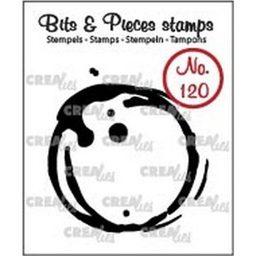 Crealies Clearstamp Bits & Pieces 120 koffievlek L CLBP120 / 42x43mm (06-18)