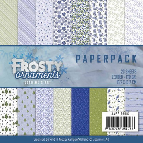 Paperpack - Jeanine`s Art - Frosty Ornaments
