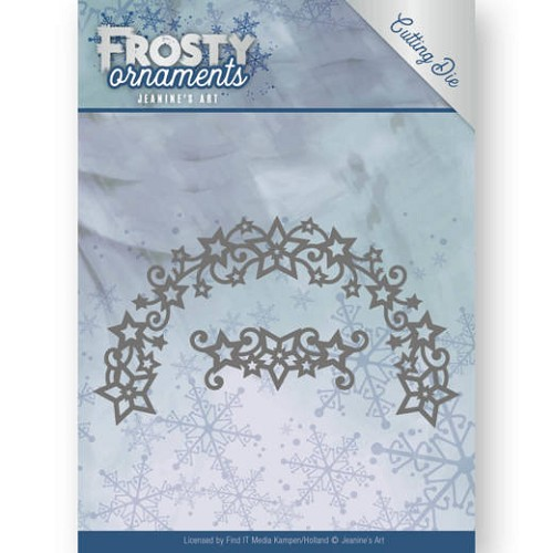 Dies - Jeanine`s Art - Frosty Ornaments - Frosty Wreath