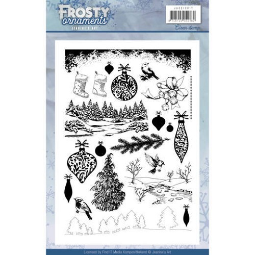 Clearstamp - Jeanine`s Art - Frosty Ornaments