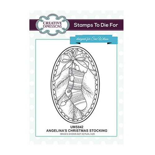 To Die For Stamp Angelina`s Christmas Stocking