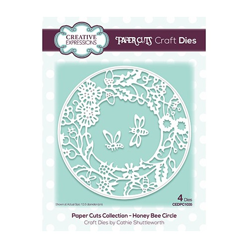 The Paper Cuts Collection Honey Bee Circle