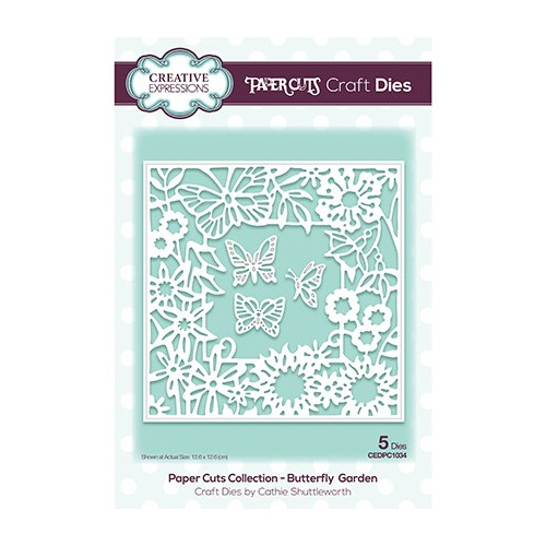 The Paper Cuts Collection Butterfly Garden