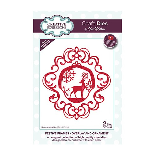 The Festive Frame Collection Overlay and Ornament