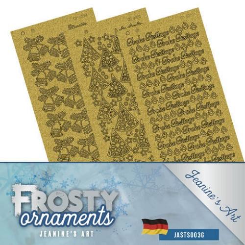 Stickerset - Jeanine`s Art - Frosty Ornaments - DUI