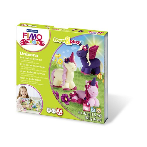 "Fimo kids Form&Play ""Unicorn"""