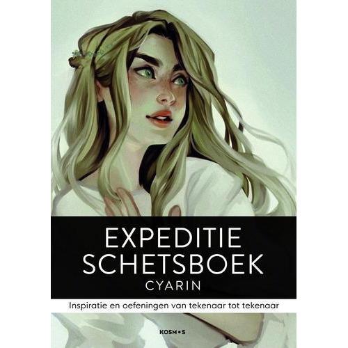 Kosmos Boek - Expeditie schetsboek Cyarin (08-18)