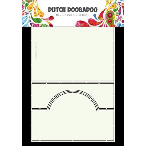 Dutch Doobadoo Dutch Card Art ezel rond A4 470.713.676 (07-18)