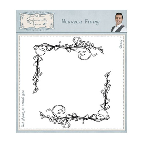 Sentimentally Yours Stamp Nouveau Frame