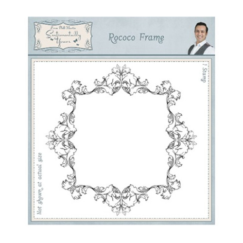 Sentimentally Yours Stamp Rococo Frame