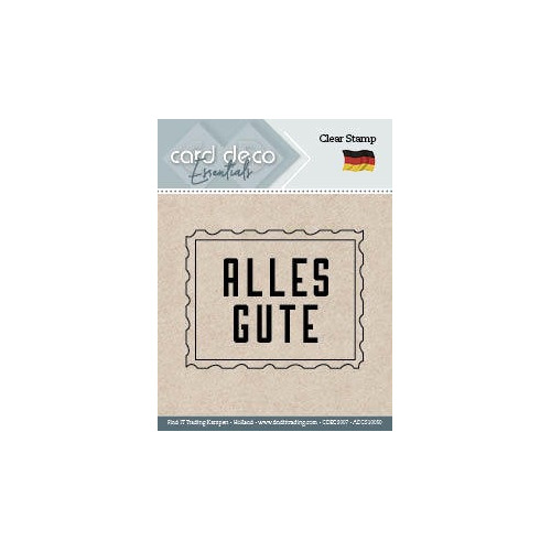 Alles Gut - Textstamp