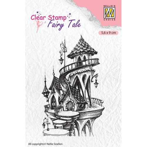 Fairy Tales: fairy summer castle