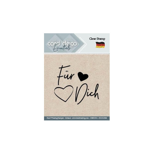Fur Dich - Textstamp