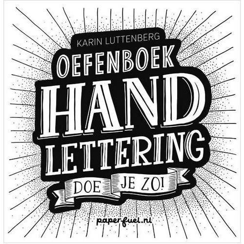 Kosmos Boek - Oefenboek Handlettering Doe Je Zo! Luttenberg, Karin