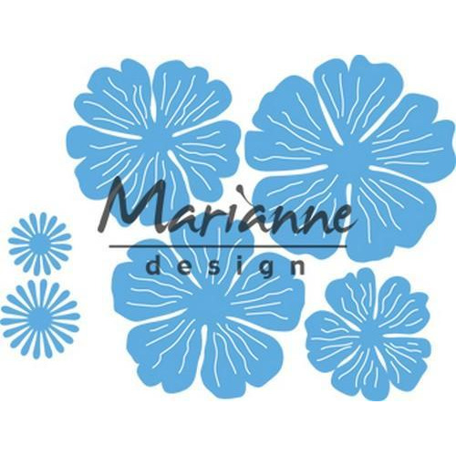 Marianne D Creatable Anja`s prachtige bloemenset LR0546 13,5x19, 5cm (08-18)