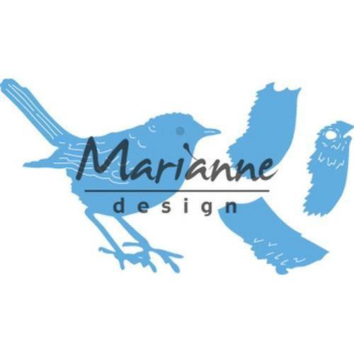 Marianne D Creatable Tiny's Roodborstje LR0548 9,5x13cm (08-18)