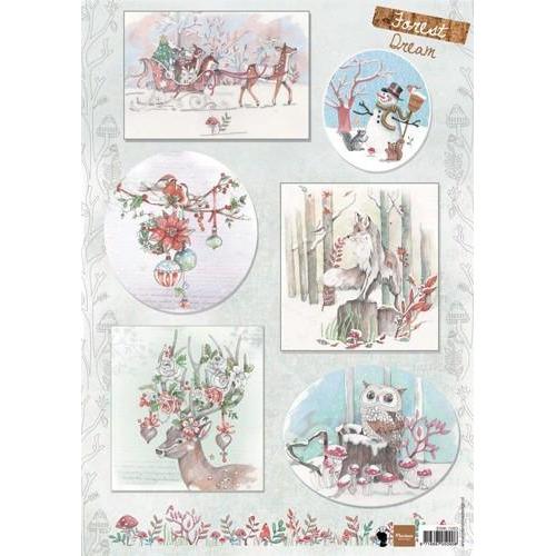 Marianne D 3D Knipvellen Els Forest Dream 2 EWK1263 (08-18)