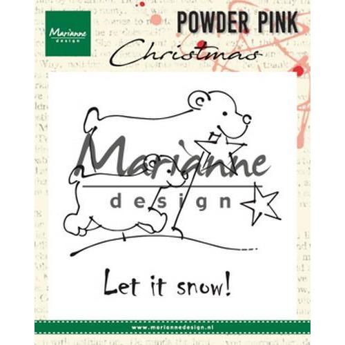 Marianne D Clear stamp ijsberen PP2808 10x12,5cm (08-18)