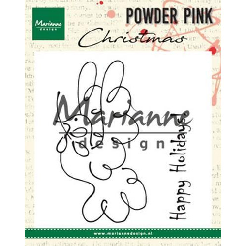 Marianne D Clear stamp vredesduif PP2809 10x12,5cm (08-18)