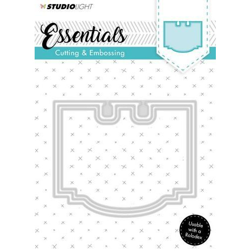 Embossing Die Cut Stencil Essentials Nr.120 STENCILSL120 (07-18)