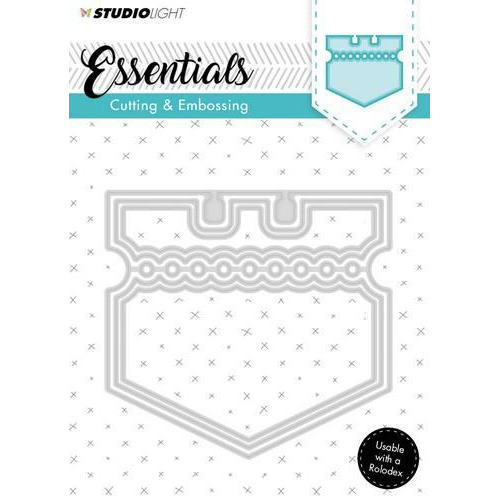 Embossing Die Cut Stencil Essentials Nr.121 STENCILSL121 (07-18)
