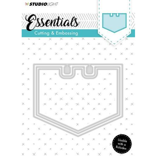 Embossing Die Cut Stencil Essentials Nr.122 STENCILSL122 (07-18)
