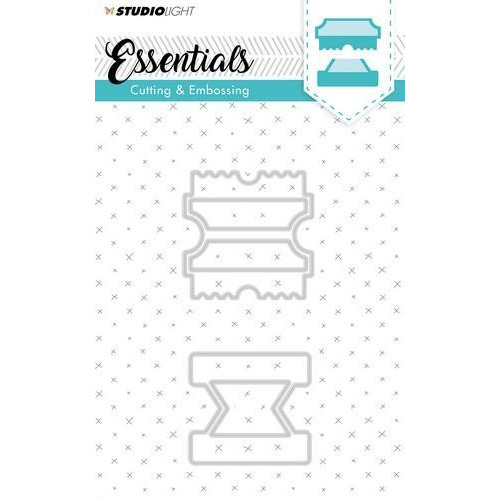 Embossing Die Cut Stencil Essentials Nr.123 STENCILSL123 (07-18)