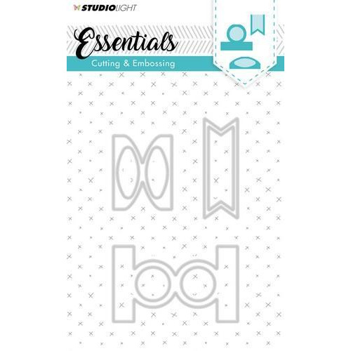 Embossing Die Cut Stencil Essentials Nr.124 STENCILSL124 (07-18)