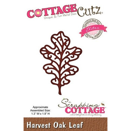 Cottage Cutz - Harvest Oak Leaf
