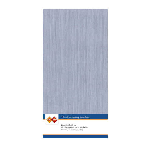 Linnenkarton - 30,5 x 30,5 - oudblauw