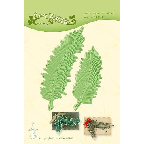 Leabilitie® Christmas branches snij en embossing mal
