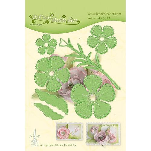 Leabilitie® Multi die flower 015 Carnation snij en embossing mal