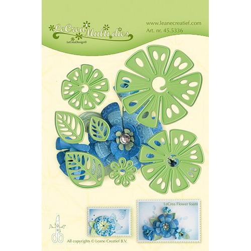 Leabilitie® Multi die flower 014 Fantasy Flower snij en embossing mal