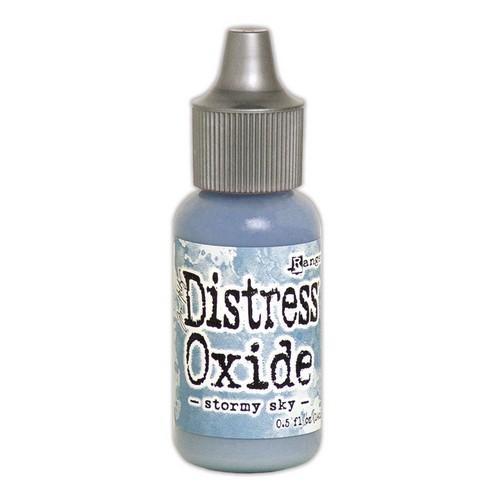 Ranger Distress Oxide Re- Inker 14 ml - Stormy Sky TDR57352 Tim Holtz (08-18)