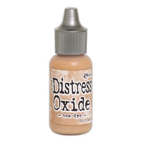 Ranger Distress Oxide Re- Inker 14 ml - Tea Dye TDR57376 Tim Holtz (08-18)
