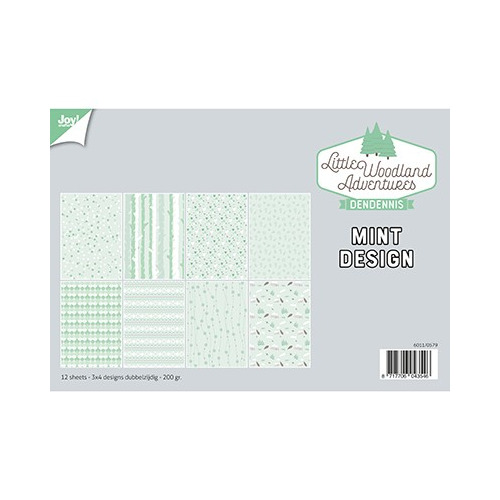 Papier Set A4 Papierset - LWA - Design Mint