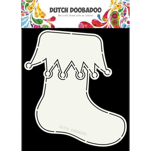 Dutch Doobadoo Dutch Card Art Kerstsok A5 470.713.681 (08-18)