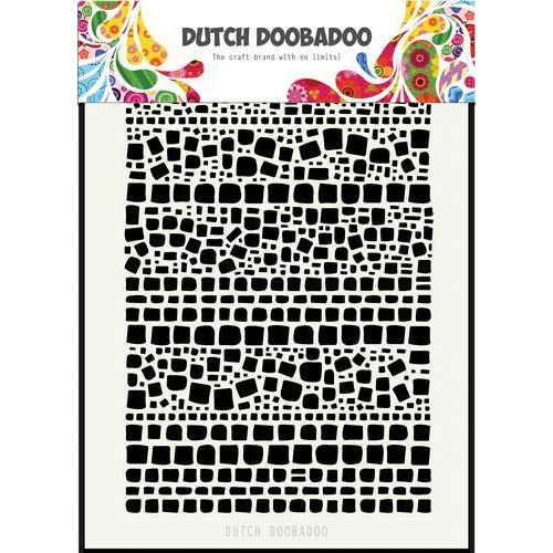 Dutch Doobadoo Dutch Mask Art Vierkantjes A5 470.715.128 (08-18)
