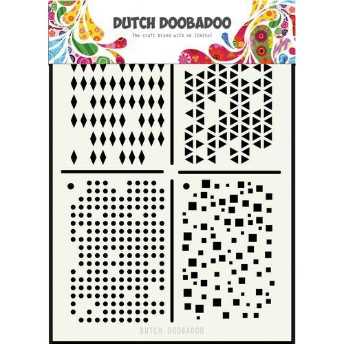 Dutch Doobadoo Dutch Mask Art Multistencil A5 470.715.129 (08-18)