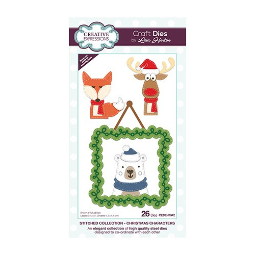 The Stitched Collection Christmas Characters