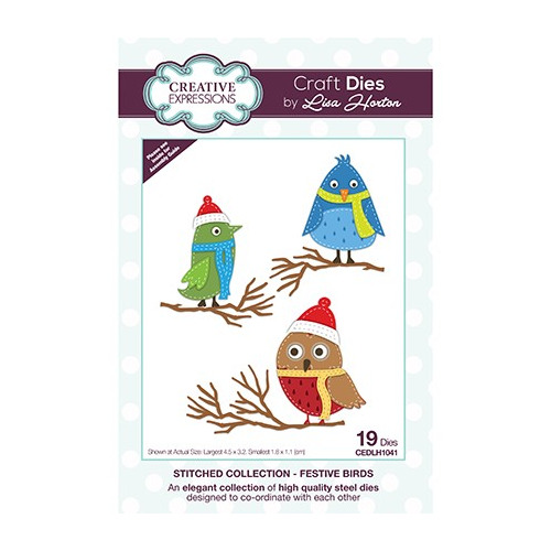 The Stitched Collection Festive Birds