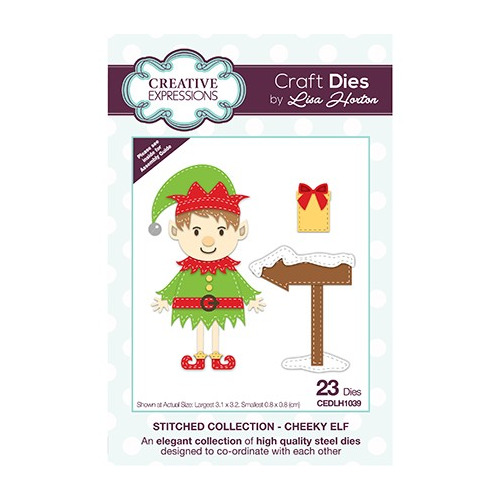 The Stitched Collection Cheeky Elf