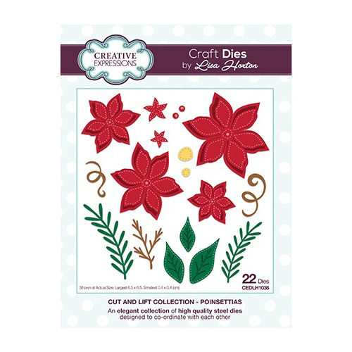 The Cut and Lift Collection Poinsettias