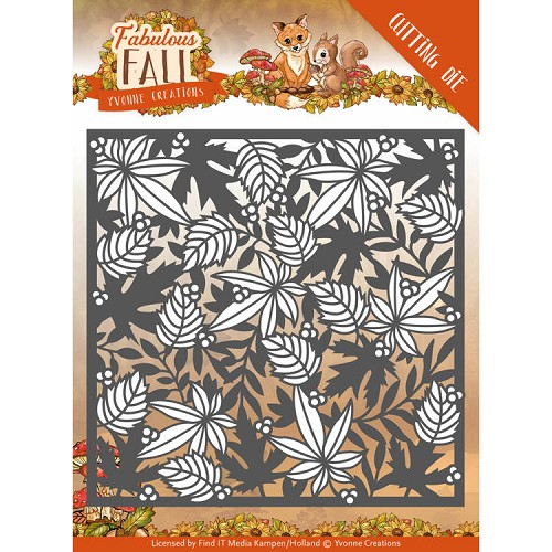 Dies - Yvonne Creations - Fabulous Fall - Autumn Frame