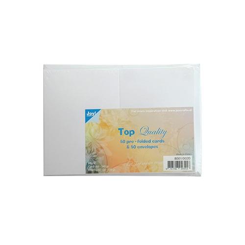 Kaarten en Enveloppen Wit